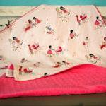 Baby Blanket - Dolls in Cre..